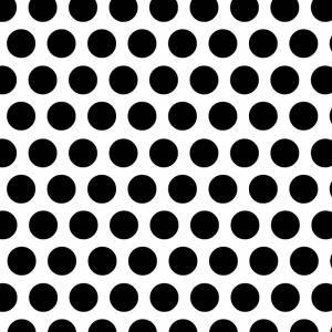 Noktalar Siyah Beyaz Fotoğraf Kanvas Tablo