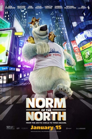 Norm Of North 2 Film Afişi Sinema Kanvas Tablo