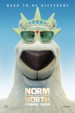 Norm Of North Film Afişi Sinema Kanvas Tablo