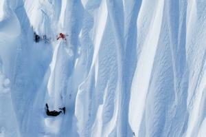Norway Lyngseidet Eirik Kayak Spor Kanvas Tablo