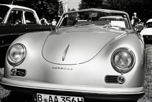 Nostaljik Porsche Fotoğraf Kanvas Tablo