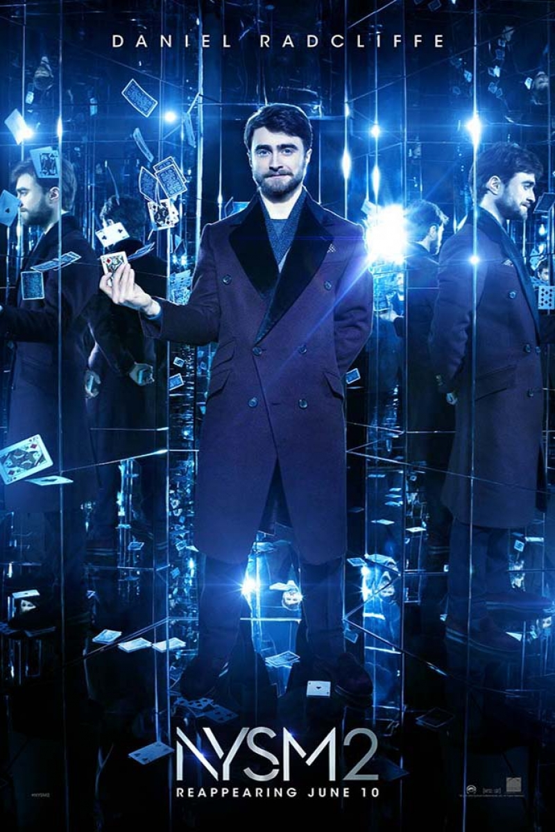 Now You See Me-2-2016 Daniel Radcliffe Film Afisi Sinema Kanvas Tablo