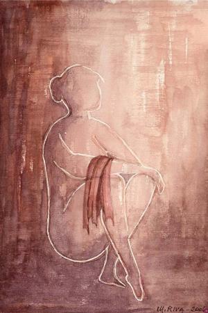 Nü Bayan Farklı Bakış Modern Sanat kanvas Tablo