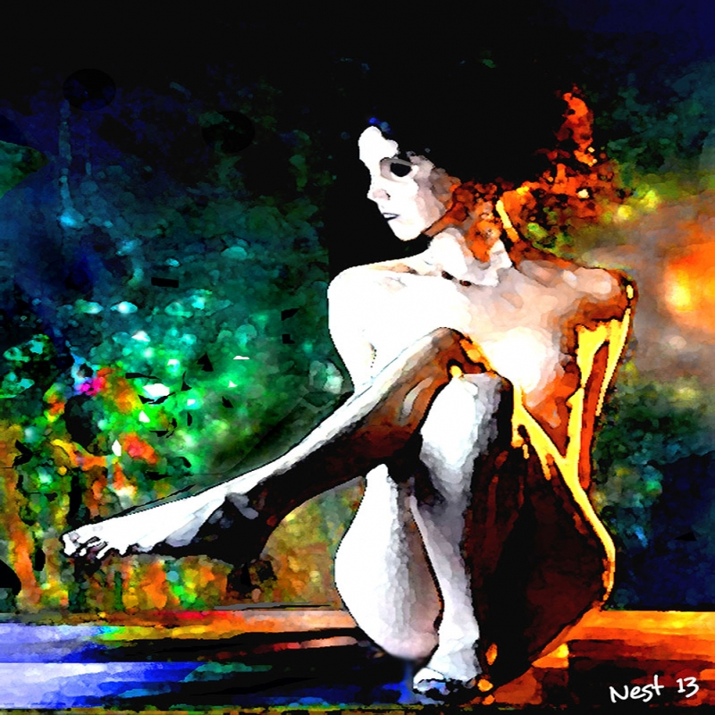 Nu Bayan Portre 1, Sanat, Dekoratif Kanvas Tablo