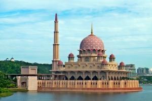 Nur Cami Almanya Dini İnanç Kanvas Tablo