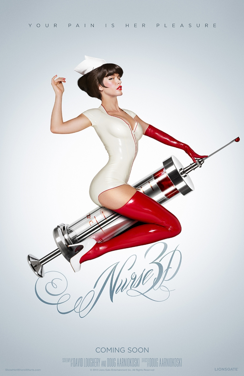 Nurse 3D Hemşire Kanvas Tablo