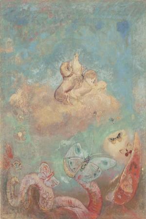 Odilon Redon Apollonun-Iki Tekerlekli Arabasi Yagli Boya Klasik Sanat Kanvas Tablo