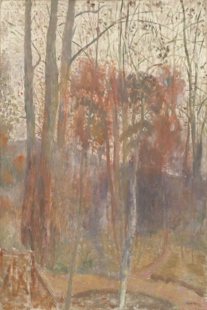 Odilon Redon Bievresdeki Agaclar Yagli Boya Klasik Sanat Kanvas Tablo