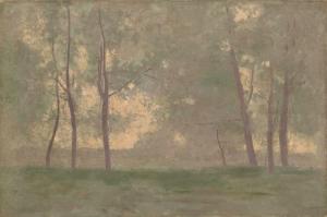 Odilon Redon Manzara Yagli Boya Klasik Sanat Kanvas Tablo
