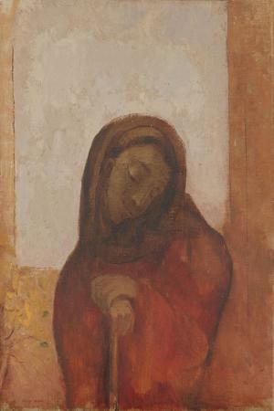Odilon Redon Umutsuzluk Yagli Boya Klasik Sanat Kanvas Tablo