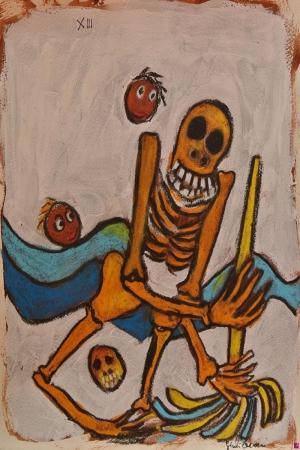 Onikinci Büyük Sır Soyut Abstract Sanat Kanvas Tablo