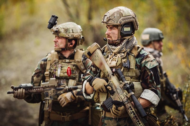Operasyon Askeri Kanvas Tablo