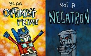 Optimus Prime ve Megatron Lego Transformers Popüler Kültür Kanvas Tablo