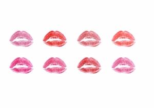 Öpücükler Popüler Kültür Kanvas Tablo