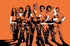 Orange Is The New Black Poster Kanvas Tablo