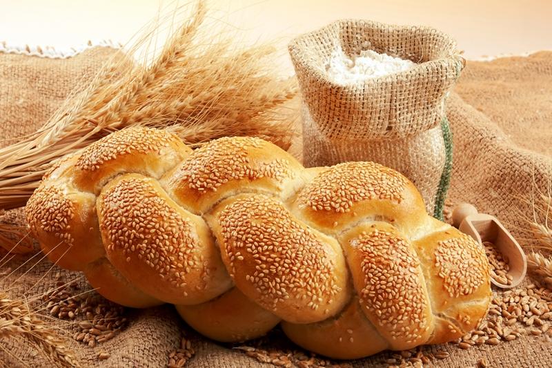 Örgü Ekmek Lezzetler Kanvas Tablo