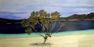 Orman Nehri Doğa Manzarası 15 Yağlı Boya Sanat Kanvas Tablo