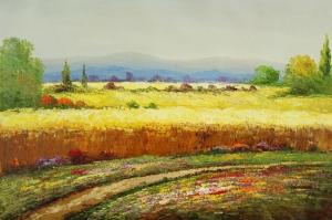Orman, Tarla, Çayır 11 Doğa Manzaraları Yağlı Boya Sanat Kanvas Tablo
