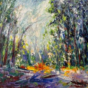 Orman, Tarla, Çayır 5, Doğa Manzaraları, Dekoratif Kanvas Kanvas Tablo