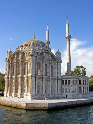 Ortaköy Camii İstabul Dini & İnanç Kanvas Tablo