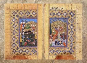 Osmanlı Minyatür Sanatı 2 Osmanlı Tarihi Kanvas Tablo