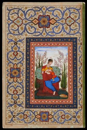Osmanlı Minyatür Sanatı 5 Osmanlı Tarihi Kanvas Tablo