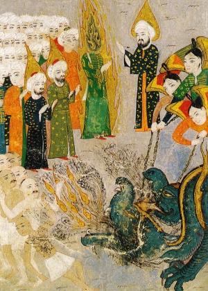 Osmanlı Minyatür Sanatı 6 Osmanlı Tarihi Kanvas Tablo