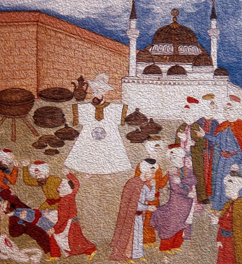 Osmanlı Minyatür Sanatı 7 Osmanlı Tarihi Kanvas Tablo