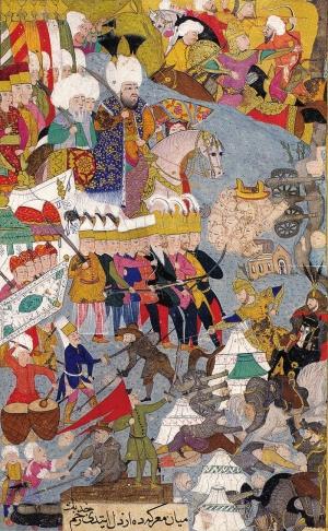 Osmanlı Minyatür Sanatı Osmanlı Tarihi Kanvas Tablo