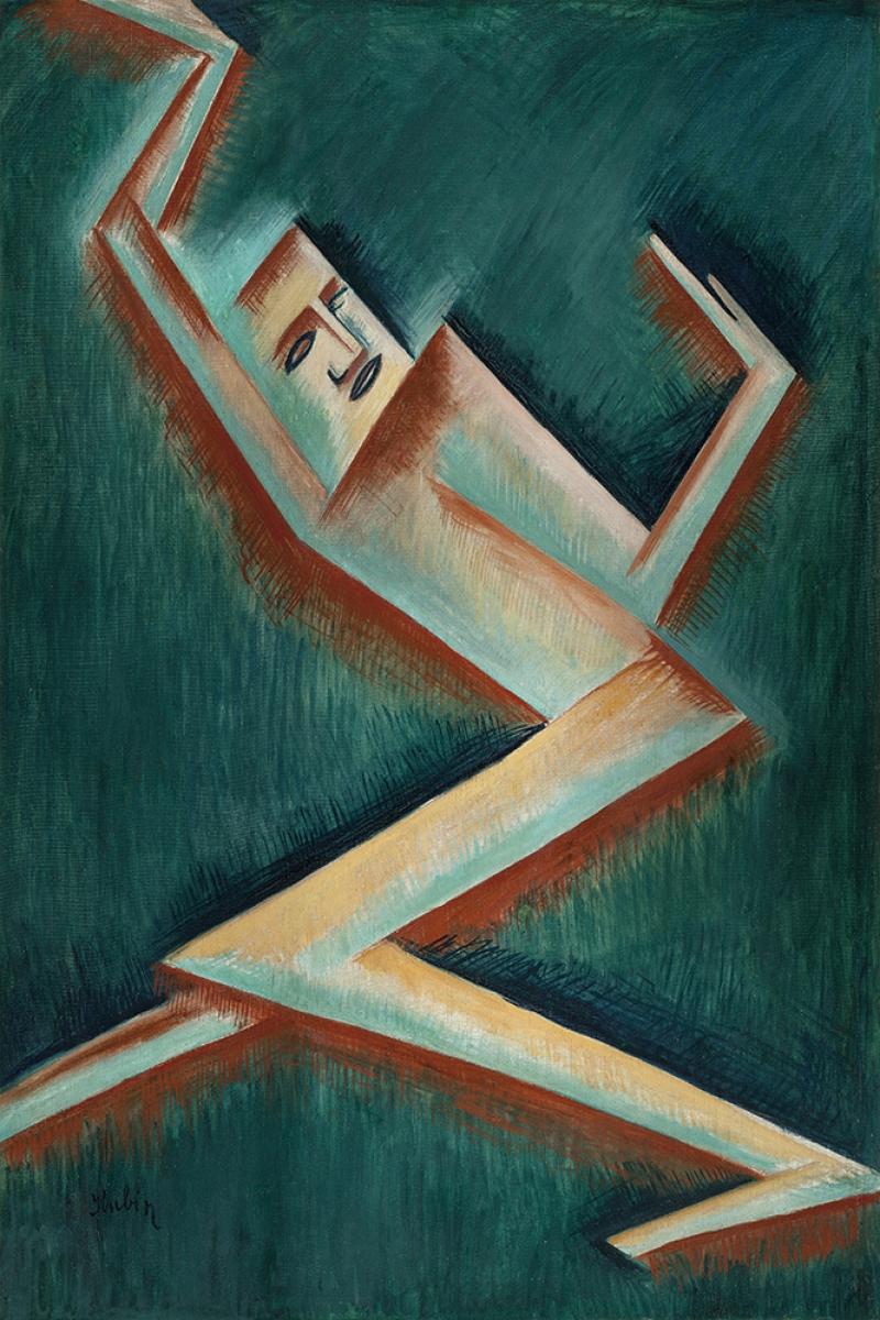 Otakar Kubin Postava II Reprodüksiyon Kanvas Tablo