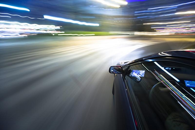 Otomobil Hız Yarış Kanvas Tablo