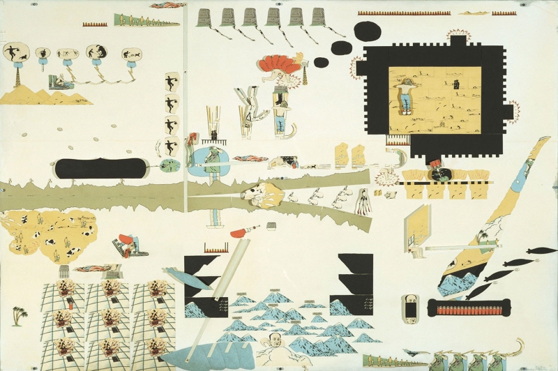 Oyvind Fahlstrom Eddie Colde Yagli Boya Klasik Sanat Kanvas Tablo