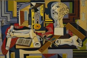 Pablo Picasso Alci Bastan Studyo Yagli Boya Klasik Sanat Kanvas Tablo