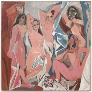 Pablo Picasso Avignonlu Genc Bayanlar Yagli Boya Klasik Sanat Kanvas Tablo