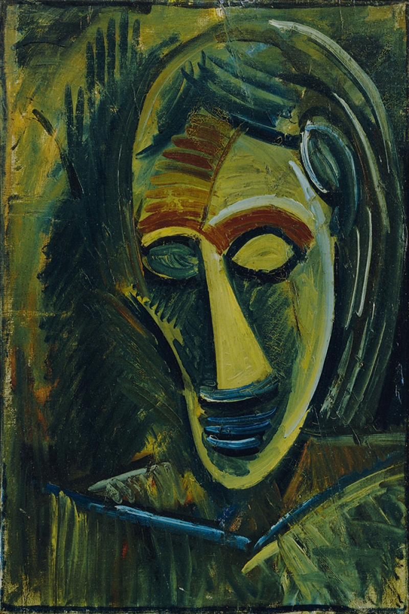 Pablo Picasso Bayanin Kafasi Yagli Boya Klasik Sanat Kanvas Tablo