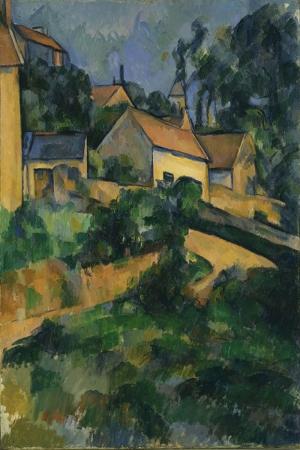 Paul Cézanne Donen Yol Yagli Boya Klasik Sanat Kanvas Tablo