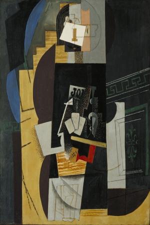 Pablo Picasso Iskambil Oyuncusu Yagli Boya Klasik Sanat Kanvas Tablo