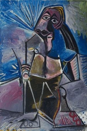 Pablo Picasso Iste Yagli Boya Klasik Sanat Kanvas Tablo