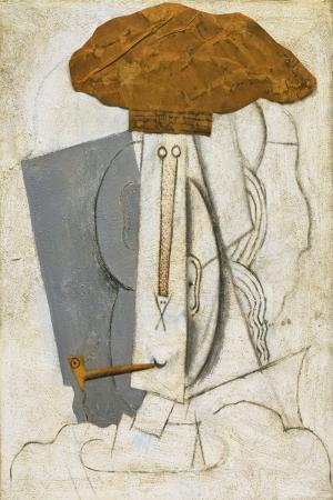 Pablo Picasso Pipolu Ogrenci Yagli Boya Klasik Sanat Kanvas Tablo