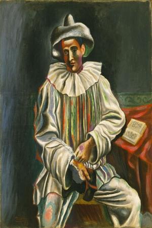 Pablo Picasso Piyero Yagli Boya Klasik Sanat Kanvas Tablo