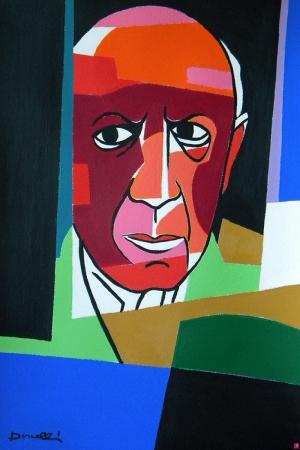 Pablo Picasso Portre Klasik Sanat Eserleri Kanvas Tablo