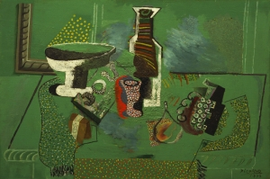 Pablo Picasso Yesil Yasim Tarzi Yagli Boya Klasik Sanat Kanvas Tablo