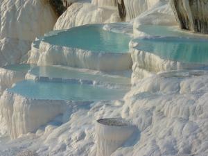 Pamukkale Unesco Dünya Kültür Mirasları Kanvas Tablo