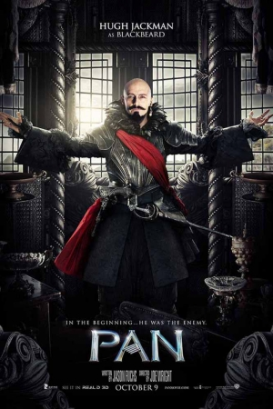 Pan Blackbeard Film Afişi Sinema Kanvas Tablo