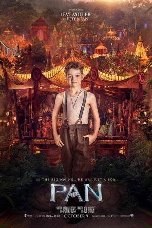 Pan Film Afişi Levi Miller Sinema Kanvas Tablo