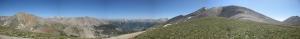Panaromik Dağ Manzarası Doğa Manzaraları Kanvas Tablo