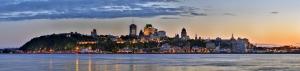 Panaromik Dünyaca Ünlü Şehirler Kanvas Tablo