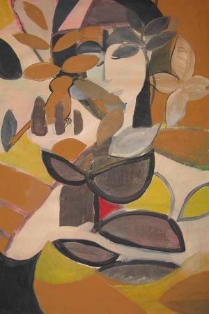 Paolo Bigelli Abstract Kanvas Tablo