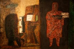 Papart, Piyano Klasik Sanat Kanvas Tablo