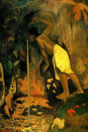 Pape Moe Paul Gauguin-5 Reproduksiyon Kanvas Tablo
